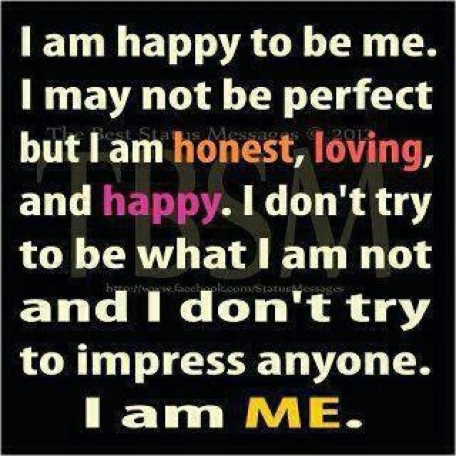 I Am Happy Images With Quotes I am happy | Positive ...