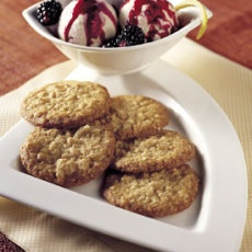 Almond Crunch Cookies   yummy recipes to try!   Pinterest
