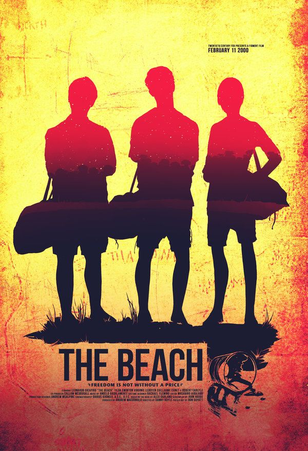 The Beach film poster | F is for Films I heart | Pinterest