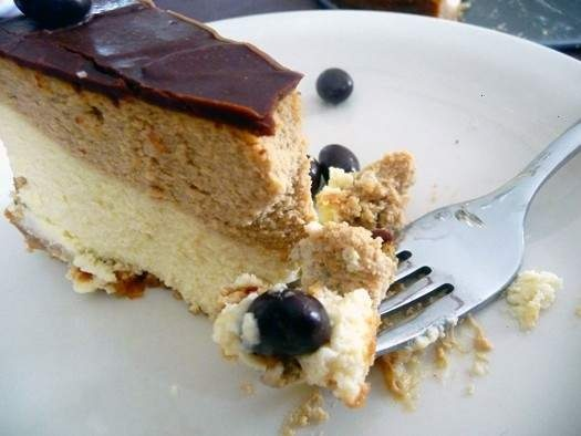 COFFEE/ESPRESSO CHEESECAKE | sweet treats | Pinterest