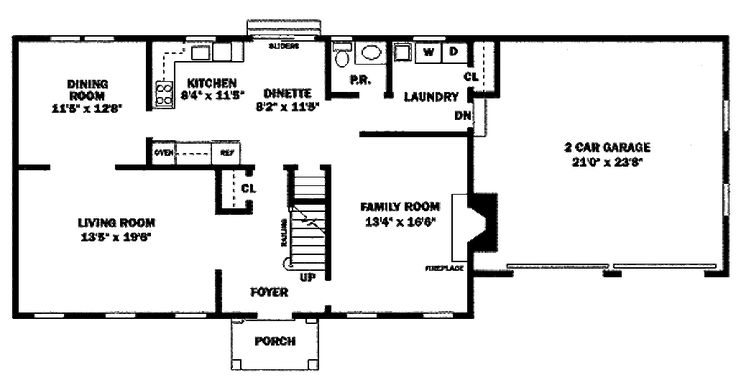 15 surprisingly center hall colonial floor plans home for Center hall colonial house plans