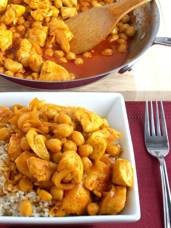 Coconut Curry Chicken with Rice   Food   Pinterest
