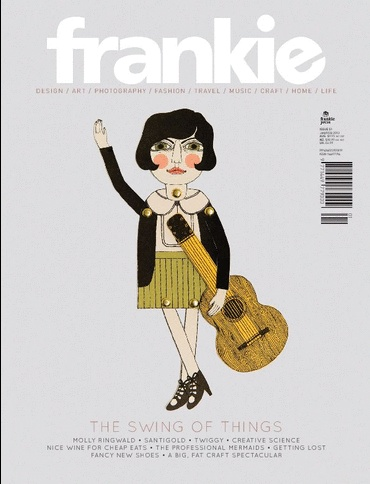 online subscription to frankie magazine $14.95 for three months