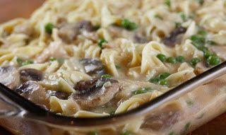 Skinny Tuna Noodle Casserole | Pasta & such | Pinterest