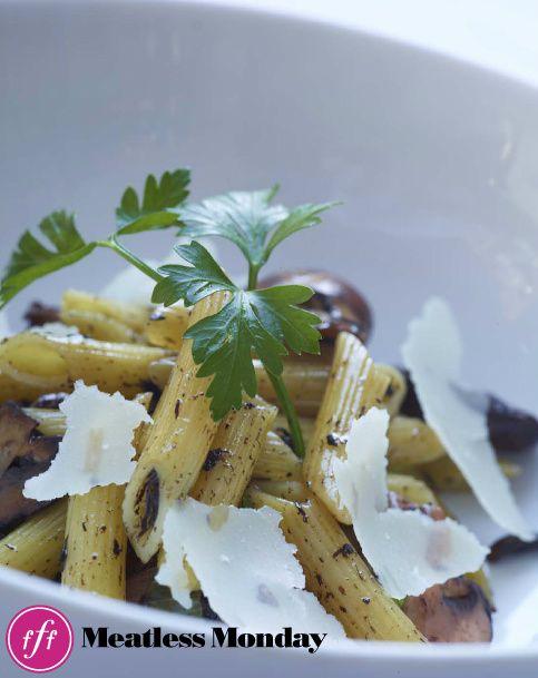 Rigatoni With Mushroom Ragu, Fresh Mozzarella, And Truffle Recipes ...