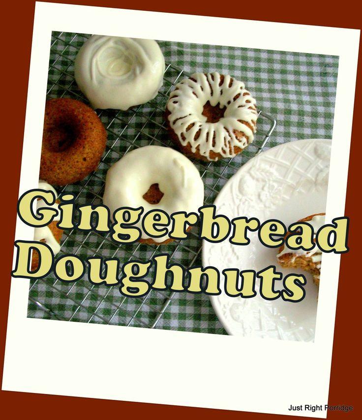 Gingerbread Doughnuts | Trim Healthy Mama | Pinterest