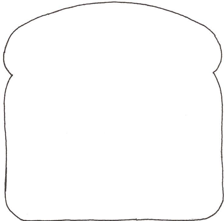 Bread Slice Template P...