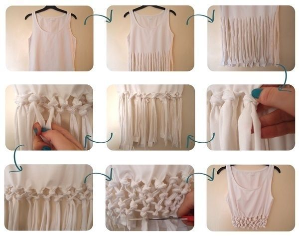 Good ideas for you recycling clothes diy pinterest - How to reuse old clothes well tailored ideas ...