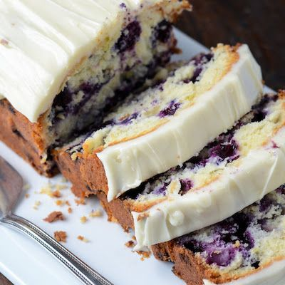 Blueberry Lime Cream Cheese Pound Cake. I don't typically bake but ...