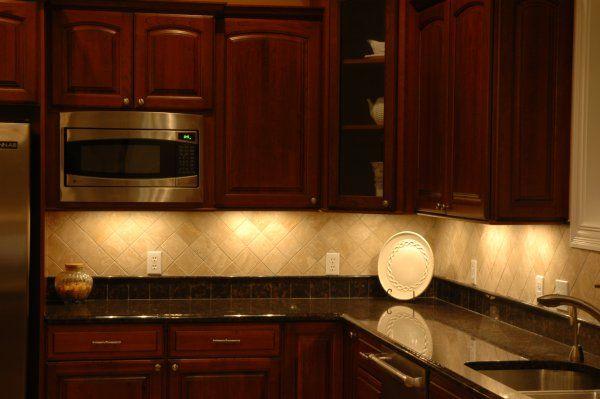 Pinterest for Lighting under kitchen cabinets ideas