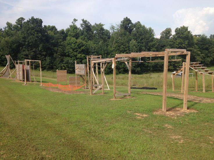 Backyard Ninja Warrior Obstacles : Backyard obstacle course ANW ametican ninja warrior