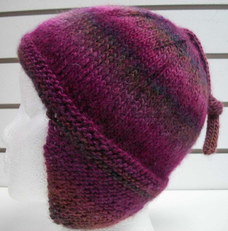 Knitting Patterns For Earflap Hats : 1107 monsoon earflap hat Best Free Knitting Patterns ...