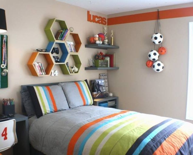 Soccer Theme For Teenage Boy Bedroom Sports Themed Kids Room Pinterest