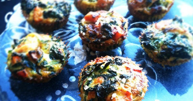 The Vegetable Diaries: Crustless Mini Quiche with Butternut Squash and ...