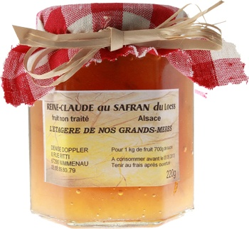 Greengage jam with saffron from Alsace | Alsace | Pinterest