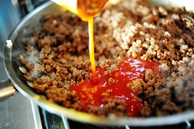 Sixteen Minute Beef and Bean Burritos | Recipe