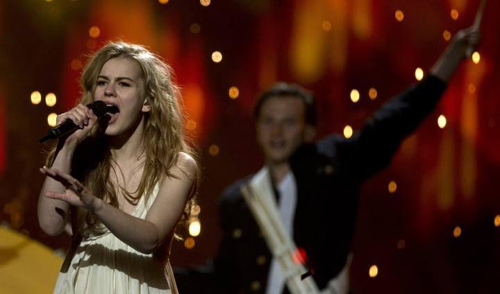 only teardrops (denmark) 2013 eurovision song contest lyrics