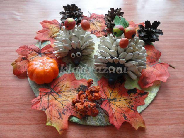 Поделки осень в детский сад пошагово 26