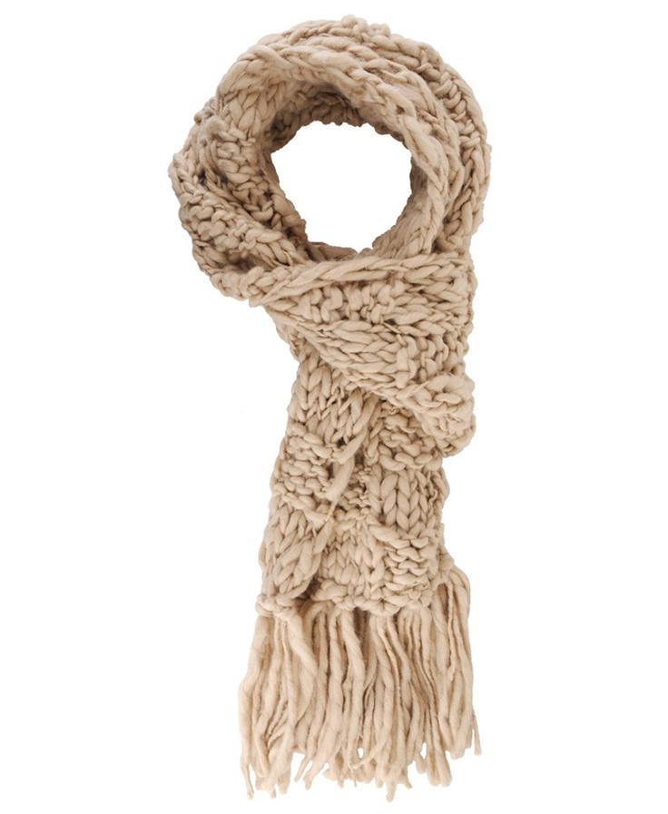 Knitting Pattern Scarf With Fringe : Knitted Scarf w/ Fringe DETOX!!!!! knitting & crocheting Pinterest