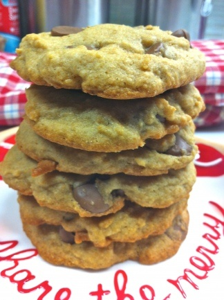 Vegan Choc Chip cookies | Recipes to Try | Pinterest