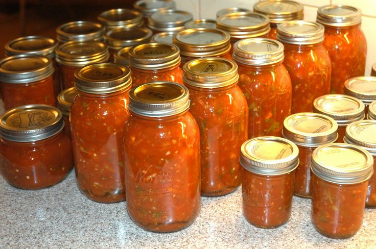The best-sounding recipe for canned salsa I've come across yet - I'm ...