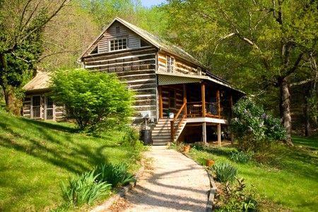 Chestnut Log Cabin Lexington Va Log Cabins Pinterest
