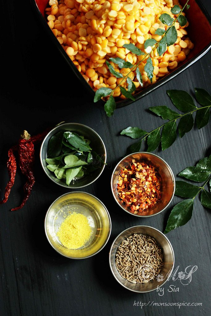 or Masala Dal Vada ~ Spicy split chickpeas/Bengal gram or chana dal ...
