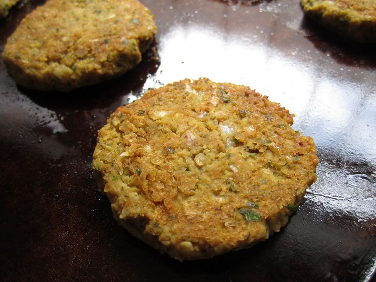 Baked Falafel recipe | food | Pinterest