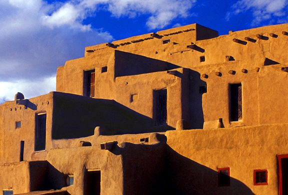 Taos pueblo taos pueblo culture and people pinterest - Pueblo adobe houses property ...