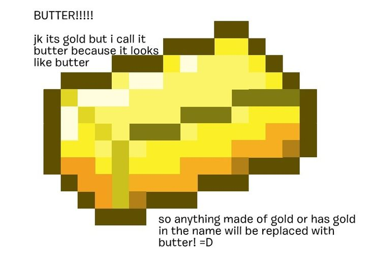 Butter Ingot Minecraft The gallery for -->...
