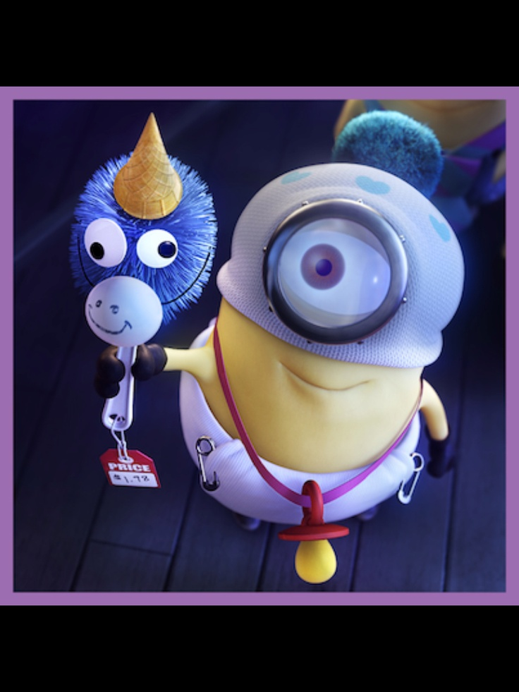 Despicable Me Minions Saying Papoy Minions haha unicorn (...