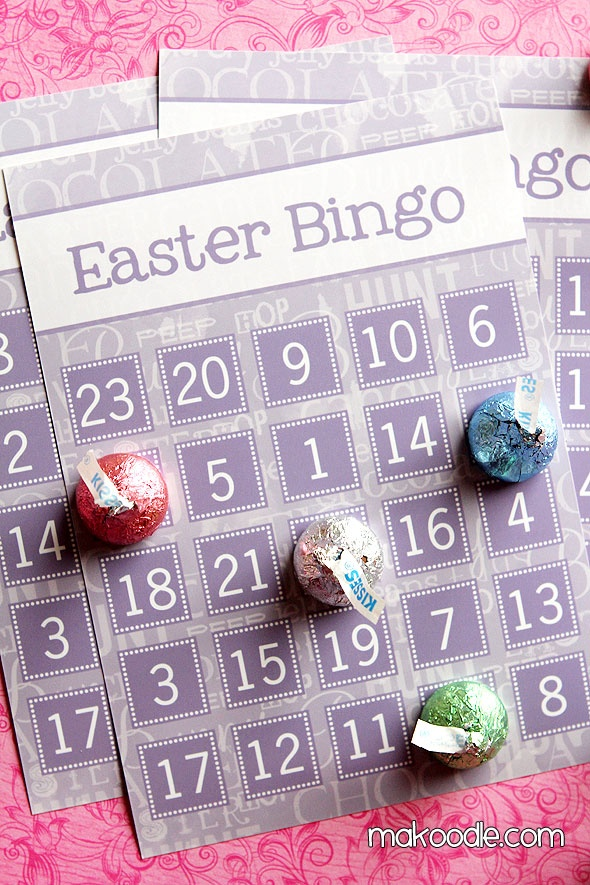 Image result for easter bingo