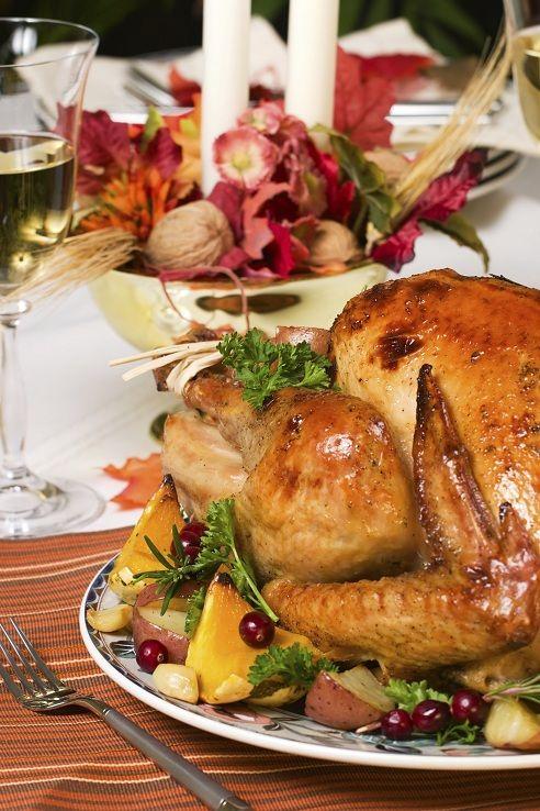Citrus-Rosemary Rubbed Turkey