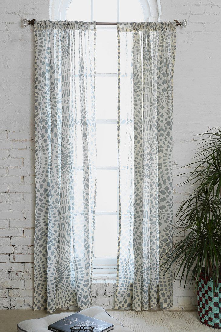 Magical Thinking Dotted Medallion Curtain