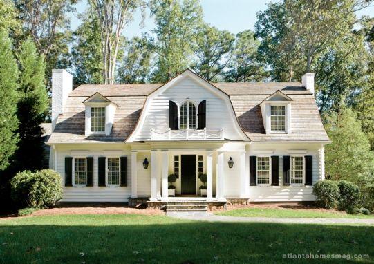 Cool Gambrel Roof House Ideas Pinterest