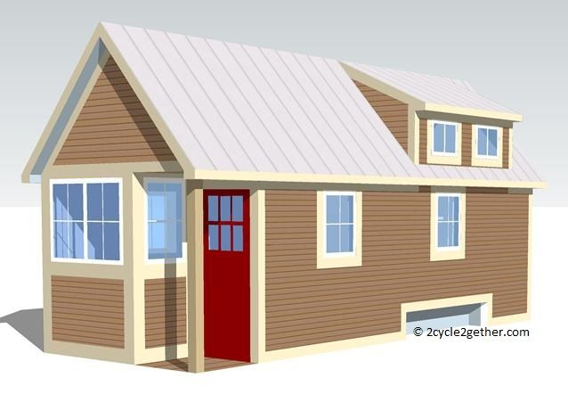 Our Tiny House in Google SketchUp Tiny Homes Pinterest