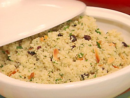 Couscous with Currants, Almonds, and Parsley | Recipe