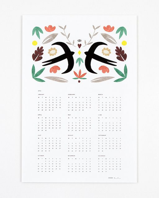 Calendar 2014 by Depeapa_01 by depeapa, via Flickr