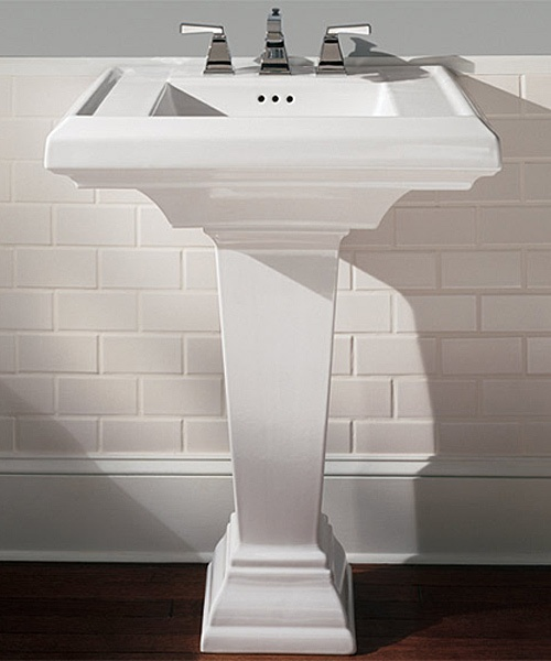 Pedestal Sink Bathroom Renovation(s) Pinterest