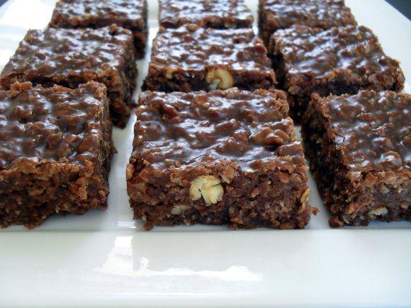 No Bake Chocolate Oatmeal Bars | Favorite Recipes | Pinterest