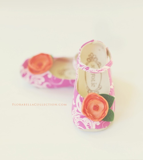 Adorable Flower Girl Shoes