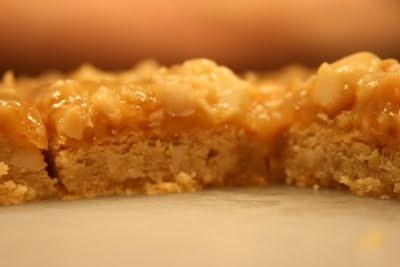 Macademia-Maple Sticky Bars   Brownies & Bars   Pinterest