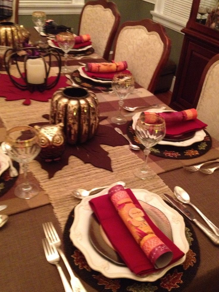 Fall Table Fabulous Dinner Party Ideas Pinterest