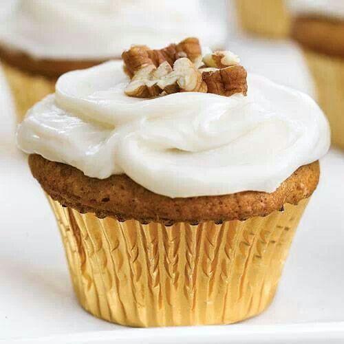 Sweet potato pecan cupcakes | Cupcakes | Pinterest