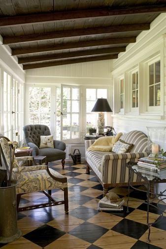 Sunroom floor mi casa pinterest for Solarium flooring