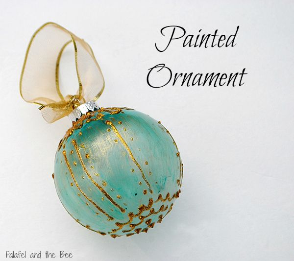 Painted glass ornaments christmas crafts and decorations for Painted glass ornaments crafts