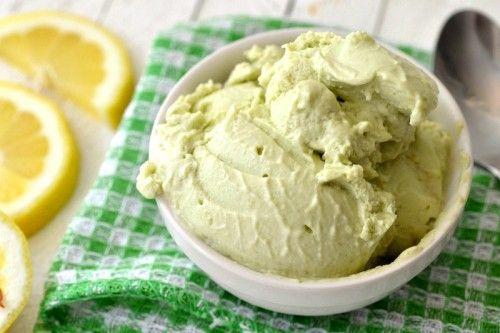 Creamy avocado ice cream | Frozen treats | Pinterest