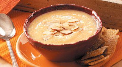Chilled Peach Soup   Eat dessert first!!   Pinterest