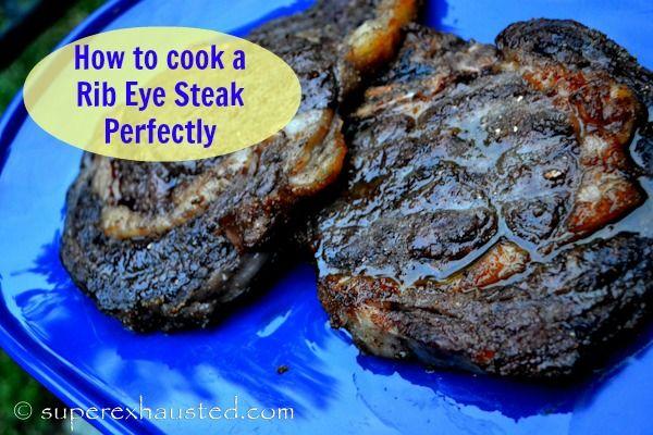 How to cook the Perfect Rib Eye steak Using mushroom powder cumin and ...