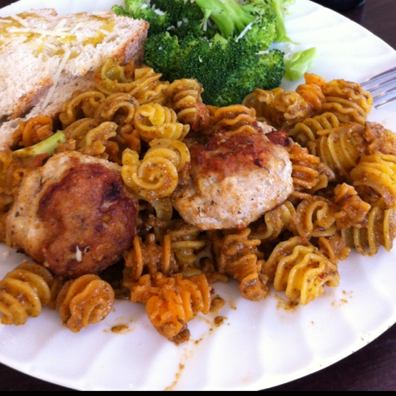 and chicken meatballs with basil mint pesto Chicken meatballs- chicken ...